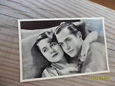 Cinema Cavalcade Card MAX Cigarettes # 244 Norma Shearer, Robert Montgomery