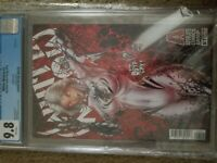 WHITE WIDOW #1 CGC 9.8 Tyndall Red Foil Variant Cover! First Print !! Sold Out!