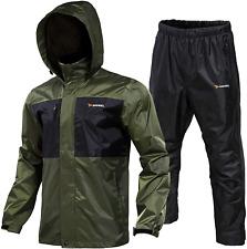Rodeel Waterproof Fishing Rain Suit For Men (Rain Gear Jacket  Trouser Suit)