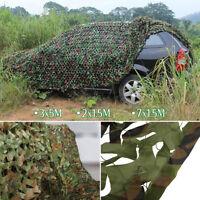 Filet Camouflage Forêt Jungle Camo Net Camping Chasse Cacher Armée Militaire PB