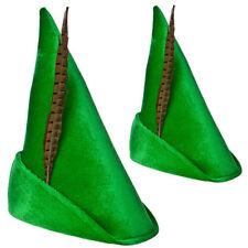 Verde Cuento Robin Hood Peter Pan Sombrero Adulto Día Del Libro
