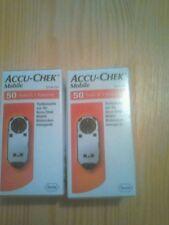 2  ACCU-CHEK Mobile Testkassetten, 2 x 50 Stück NEU