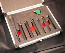 Set di 7 SCT indicizzabile carburo UTENSILI DA TORNIO 8 mm codolo (riferimento: