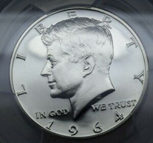 1964 50Cent Half Dollar PCGS PR69 Stunning blast white should be DCAM PQ!!