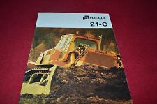 Fiat Allis Chalmers 21-C Crawler Tractor Dealers Brochure YABE11 ver64