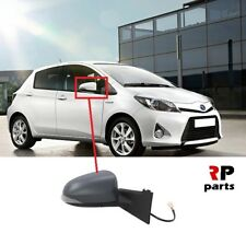 Right Side Clip On Heated Mirror Glass for Toyota Yaris 2011-2019 0588RSHP