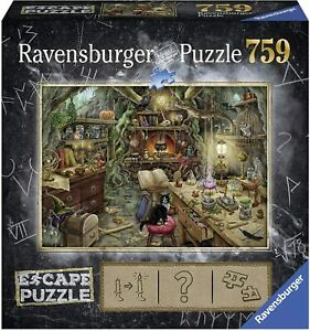 Ravensburger Escape 3 THE WITCHES KITCHEN 759pc Jigsaw Puzzle - New