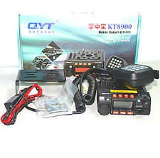 QYT KT8900 Mini Car Transceiver 20W Mobile Radio Dual Band Radio VHF UHF 200CH