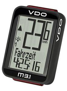 VDO Funk Fahrradcomputer M3.1 WL 30035 Fahrradtacho Biketacho Tacho Radtacho D3