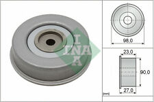 Aux Belt Idler Pulley 532038120 INA Guide Deflection MD102451 MD166381 MD308882