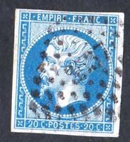 EMPIRE- VARIETE  N°:14 B  (TYPE II  ) oblitéré 3537    CV: 6 €