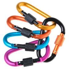 Carabiner D-Ring Key Chain Clip Snap Hook Karabiner Camping Keyring On Sale