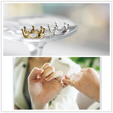 2016 Fashion Crown Finger Ring For Women Jewelry Wedding Accessories #UK stock#
