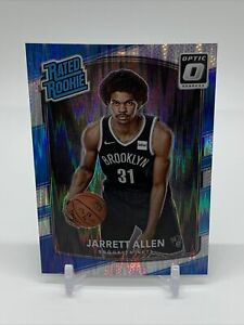 Jarrett Allen 2017-18 Donruss Optic Rated Rookie Shock Flash Holo - #179 - Cavs