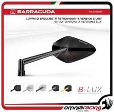 Barracuda 2 Specchietti retrovisori X-VERSION B-LUX moto Naked Neri + adattatori