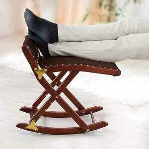 Beinschaukel klappbar, höhenverstellbar - Fußschaukel Fußhocker Hocker Wippe