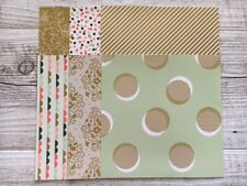 """Stampin' Up! 6x6 Specialty Paper Pack """"Gold Soiree"""""""