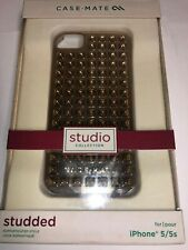 Case-Mate Barely There iPhone 5/5S Studded Gold