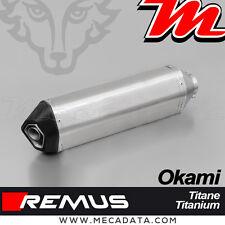 Silencieux Pot échappement REMUS Okami Titane Suzuki GSX-R 1000 R 2017