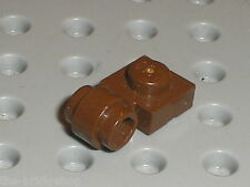 LEGO OldBrown Plate 1 x 1 with Clip Light 4081b / Set 7203 4478 4518 7163 ...