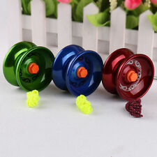 Aluminum Design Professional YoYo Balls Bearing String Trick Alloy ChildrenToys