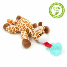 MMBABY Infant Pacifier-Pacifier Holder (Plush Toy Includes Detachable Pacifier,