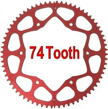 74T Tooth #35 Chain Split Sprocket Two 2 Piece Gear Drift Trike Go Kart Racing
