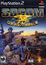 Socom: US Navy Seals For PlayStation 2 PS2 Very Good 4E