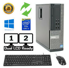 Dell Optiplex Desktop Pc 7010 Windows 7/10 Intel i5 Quad Core 4Gb, 8Gb, 16Gb
