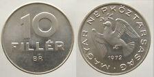 Hungría 10 Filler 1972 Alu unz