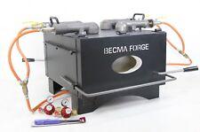BECMA 4 Fach-Brenner Gasofen Schmiedeofen Gasesse für Propangas GFR.7 neo