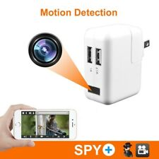 1080P HD Security Hidden Camera Nanny Cam USB Wall Charger Adapter US Plug