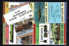 Sainte-Lucie - Saint Lucia 10 timbres différents