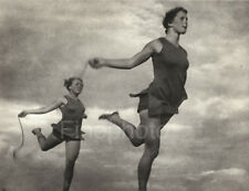 1936 OLYMPICS Germany GIRLS ROPE SKIPPING Exercise Photo Art By LENI RIEFENSTAHL