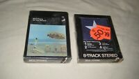 LOT of NEIL YOUNG SEALED 8 TRACK TAPES On The Beach+Hawks & Doves Reprise