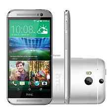 New Unlocked HTC One M8 Android Smart Phone - 32GB - Glacial Silver (5.0 Inches)