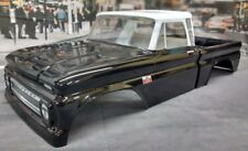 Custom Painted Body 1966 Chevrolet C-10 For 1/10-1/8 RC Monster Truck/Crawlers
