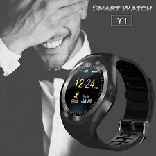 Bluetooth Smart Watch Phone Mate Round Touch Screen for IOS Android IPhone HTC