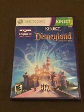 Microsoft XBox 360 Video Game Kinect Disneyland Adventures Rated E NICE