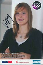 Katharina Leiding  SGS Essen  Frauen Fußball Autogrammkarte signiert 376200