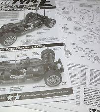 Bauanleitung für Tamiya Toyota Celica GT-Four 1990 Anleitung Parts List neu