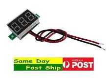 LED Mini Voltage Meter Voltmeter Gauge 2.5-32V range, 2 wire AU Local Fast Ship