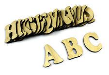 Small 26 Wooden Alphabet Letters / Wall Hanging / Nursery Decor / Alphabet Wall