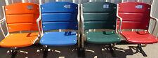 Shea Stadium seats, ORANGE, BLUE, RED & GREEN