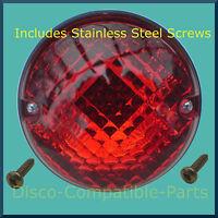 Land Rover Defender Fog Light Unit + Stainless Steel Screws From 2001