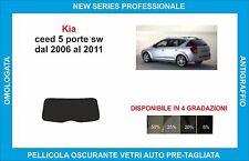 pellicole oscuranti vetri kia ceed sw dal 2006-2011 kit lunotto