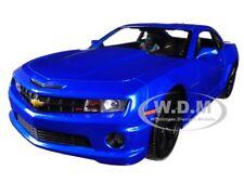 2010 CHEVROLET CAMARO RS SS LIGHT BLUE W/ BLACK WHEELS 1/18 CAR BY MAISTO 31173