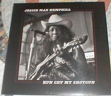 """New Vinyl 33 1/3 Rpm 12""""_Run Get My Shotgun Jessie Mae Hemphill 2019 Blm Possum"""