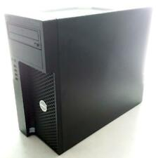 Dell Precision T3620 E3-1240 v5 128GB SSD & 1TB HDD 16GB NVS Gfx WIFI Win 10 B