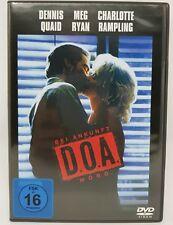 D.O.A. - Bei Ankunft Mord DVD NEU - Meg Ryan - Dennis Quaid